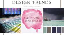 Top Ten Web Design Trends You Need to be Aware of!