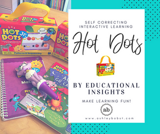 Hot Dots - Interactive Learning by Play and Self Correction