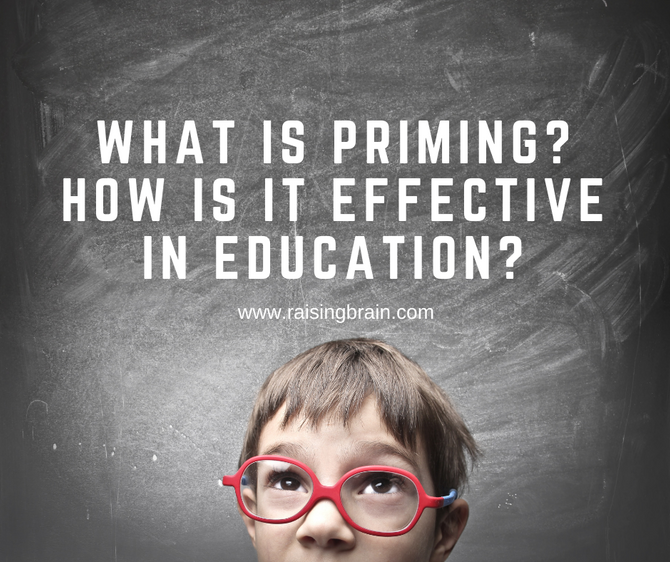 What is Priming? How is it Effective in Education?