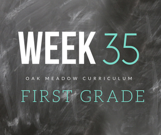 Homeschooling - 1st Grade Week 35 Oak Meadow Curriculum Supplements