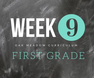 Homeschooling - 1st Grade Week 9 Oak Meadow Curriculum Supplements