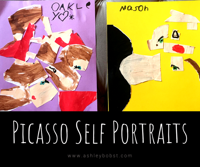 Pablo Picasso Cubism Art Project