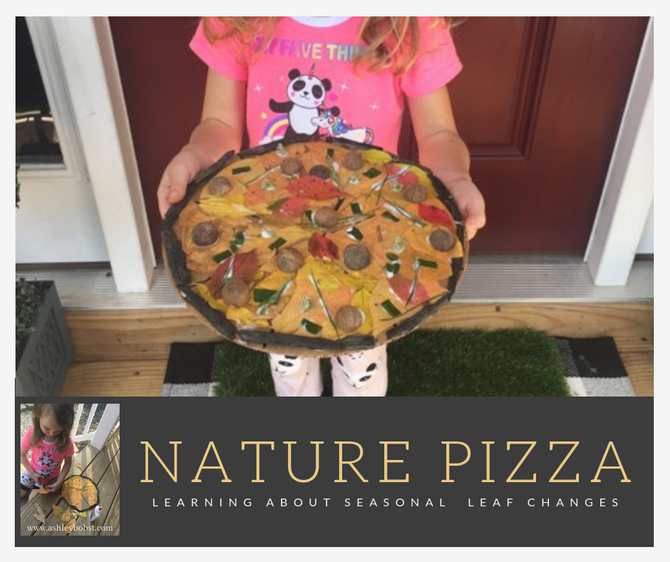 Nature Pizza - Learning about Leaf Changes