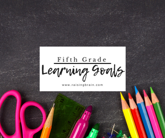 Fifth Grade Learning Goals