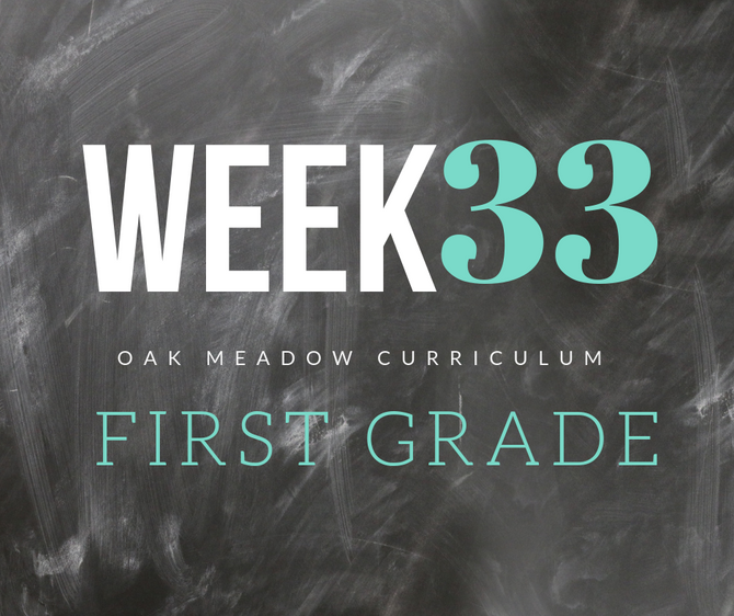 Homeschooling - 1st Grade Week 33 Oak Meadow Curriculum Supplements