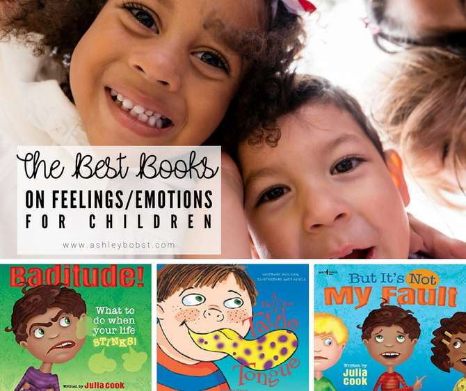Book Review: Julia Cook's Children's Series on Feelings