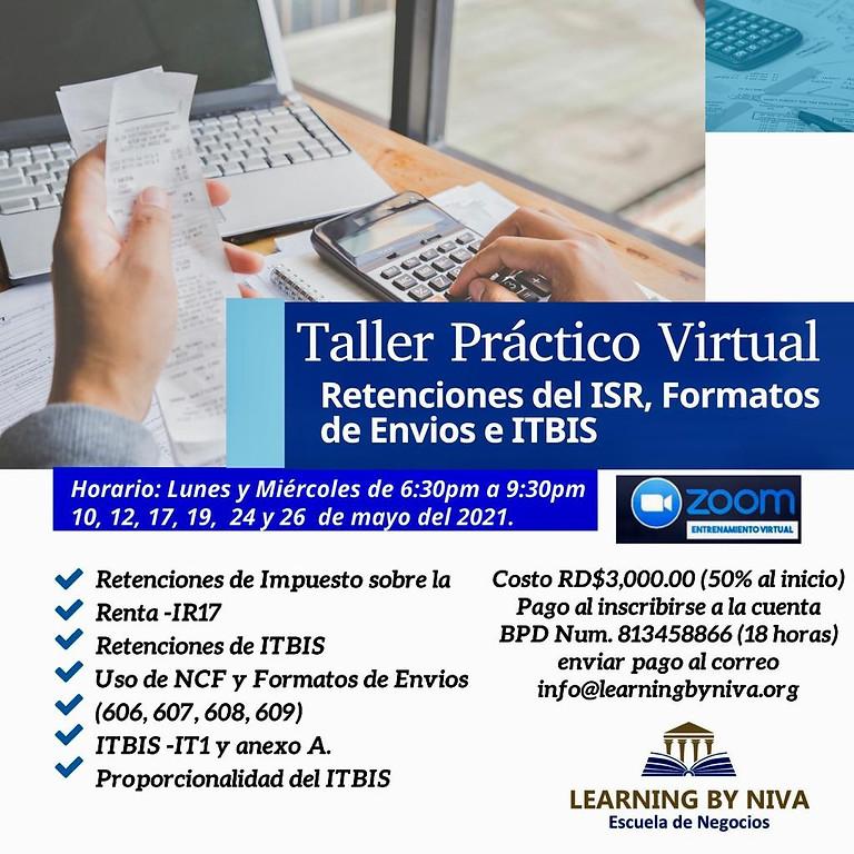 MAYO 2021- PRÁCTICO RETENCIONES DEL ISR, ITBIS, NCF Y FORMATOS DE ENVÍOS