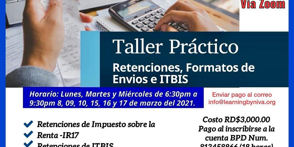 PRÁCTICO RETENCIONES DEL ISR, ITBIS, NCF Y FORMATOS DE ENVÍOS