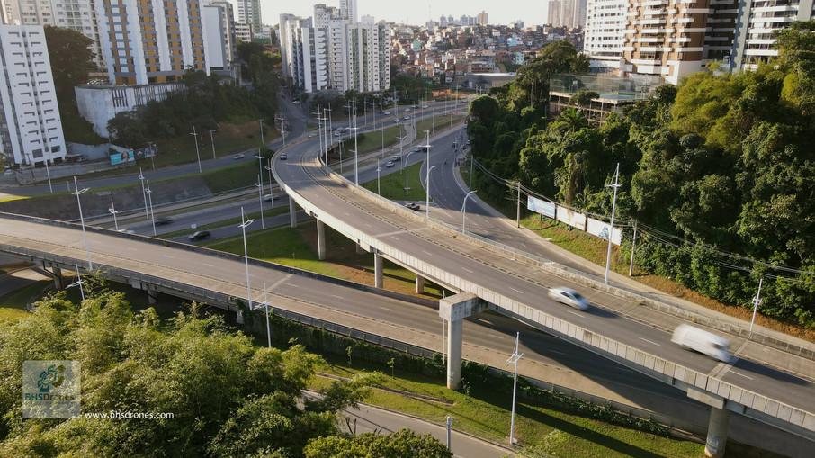 Complexo viário BRT Lucaia - Pituba - SDB