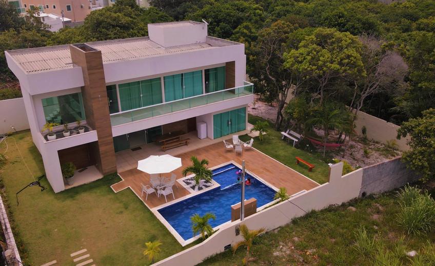 Casa temporada no condomínio Aldeias do Jacuípe