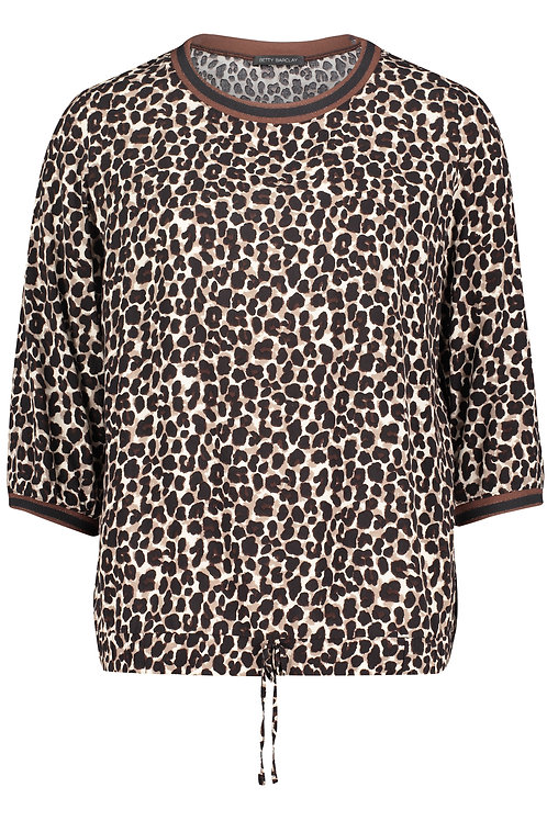 Betty Barclay - Animal print blouse top