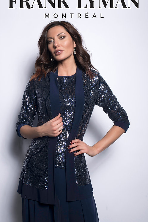 Frank  Lyman - Midnight blue sequin jacket