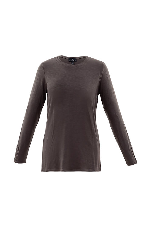 Marble -  Mink long sleeve t-shirt top