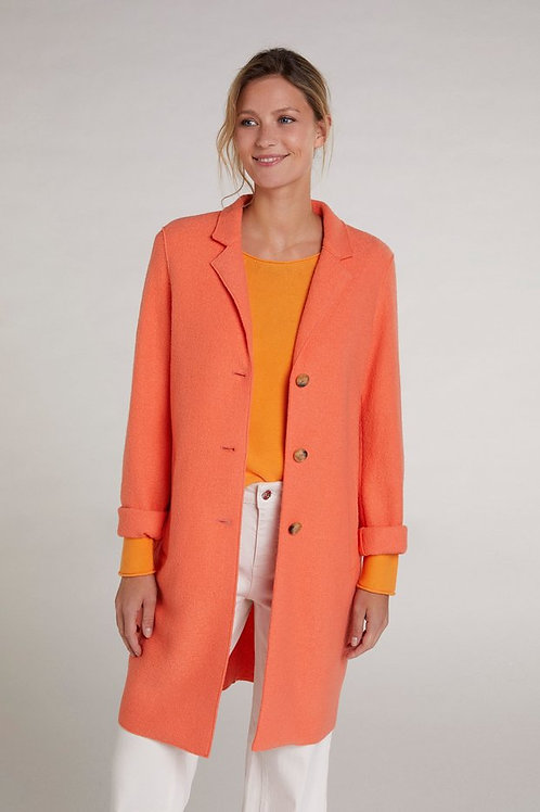 Oui - Peach cotton jacket