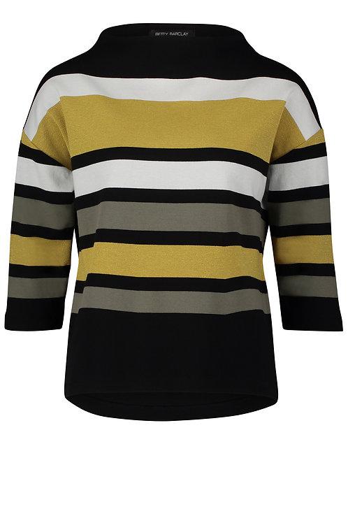 Betty Barclay - Mustard/khaki sweatshirt jumper