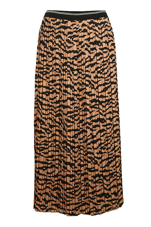 Betty Barclay - Animal print pleated skirt