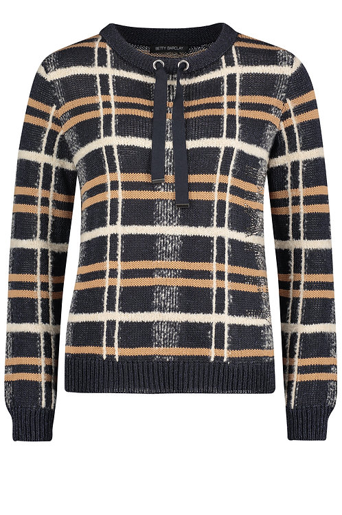 Betty Barclay - Large plaid jumper