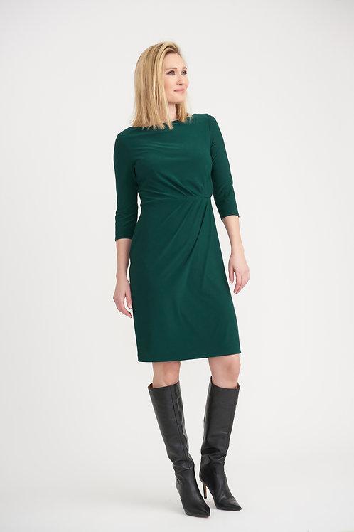 Joseph Ribkoff Emerald Green Midi Dress
