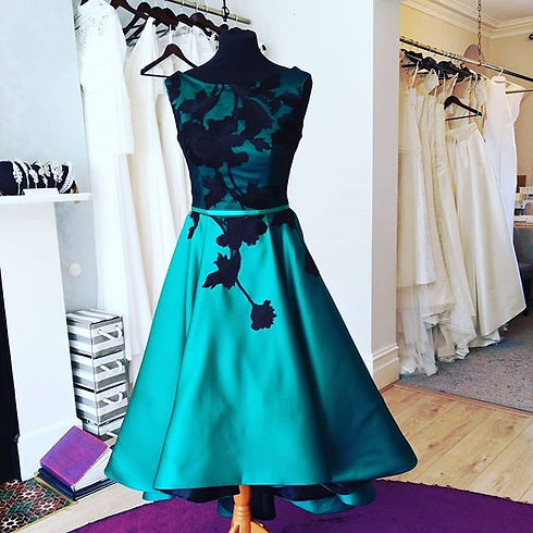 Our beautiful #deilia Couture evening go