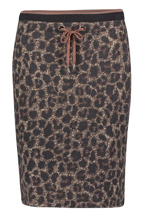 Betty Barclay - Brown animal print skirt