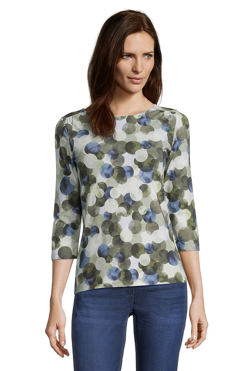 Betty Barclay - Multicoloured spot print soft stretchy top