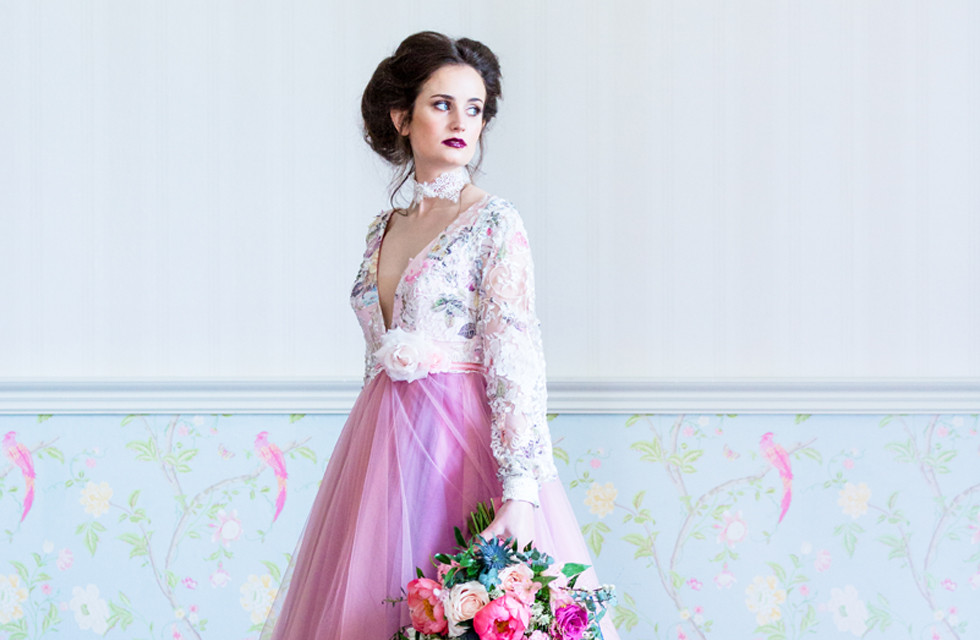 Ophelia dress from Lara B Couture