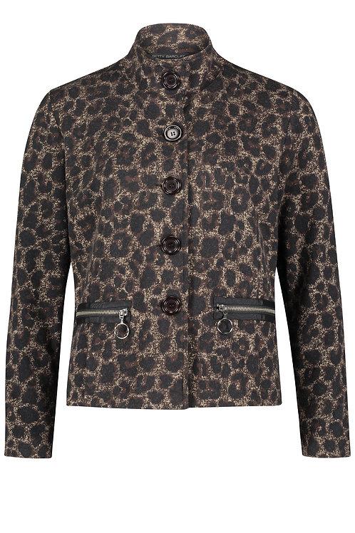 Betty Barclay - Brown animal print jacket