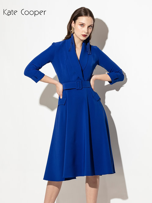 Kate Cooper - Electric blue dress