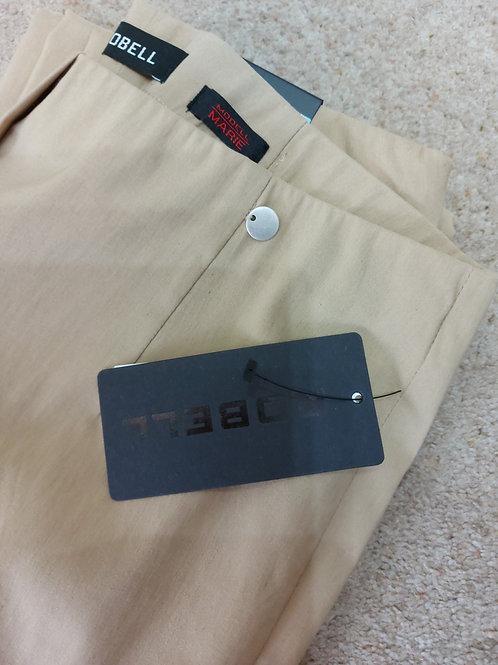Robell - 'Marie' sand classic leg stretch trouser.