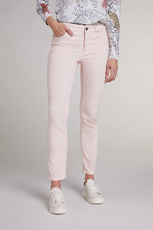 Oui - Powder pink jeggings