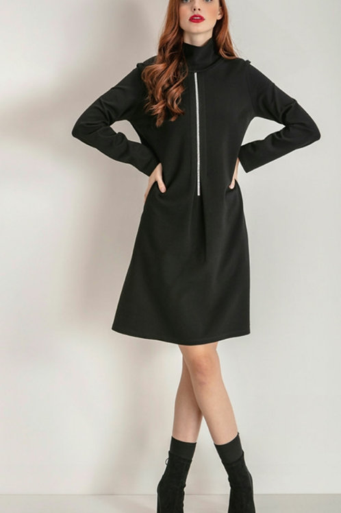 Maria Bellentani - Black dress with diamonte