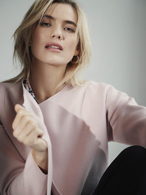 Sunday -  Baby pink thick cardigan/jacket
