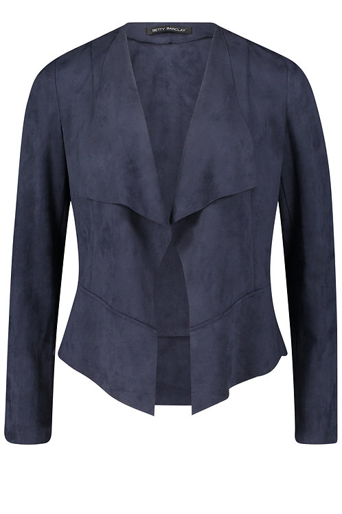 Betty Barclay - Faux suede loose jacket