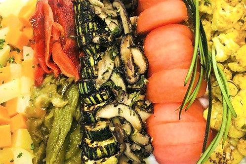 Assorted Lava-Roasted Organic Vegetables