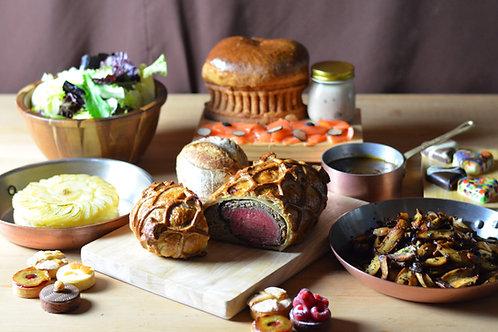 Beef Fillet Wellington – complete meal serving two