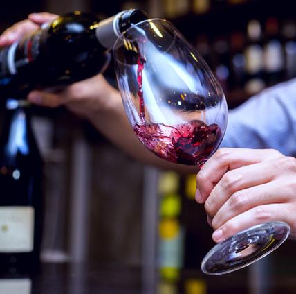 Beer, wine, and gourmet drinks
