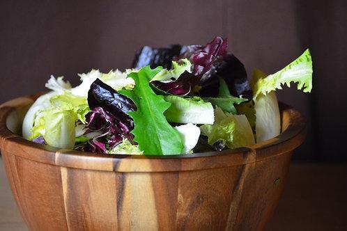 Artisanal Greens and Chicories with Mustard Vinaigrette