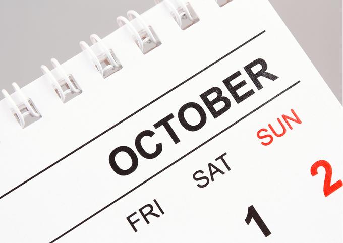 Het oktober-effect...