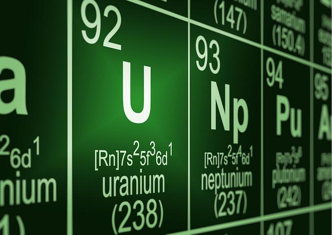 Explosief Uranium...