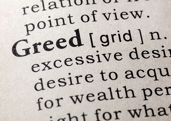 Extreme Greed...
