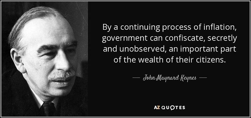 Inflatie, legale diefstal...