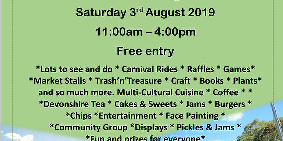 St Mary's Community Fete