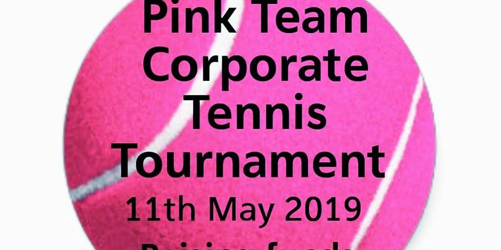 Pink Team Corporate Tennis Tournament