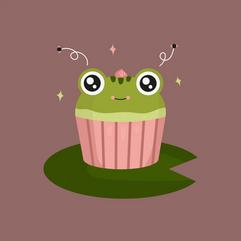 Pretty Frog Cake