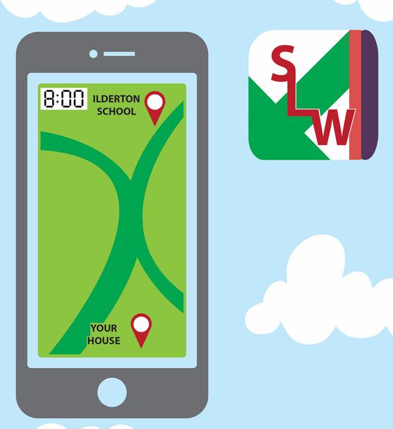 Schoolo Walk app
