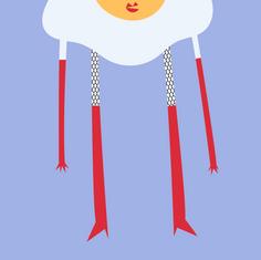 Abnormally Tall Egg