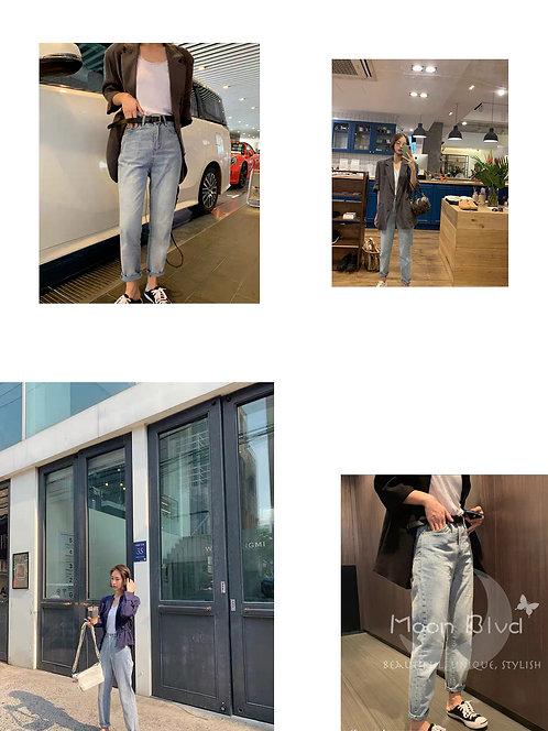 萝卜型牛仔裤 Peg Jean