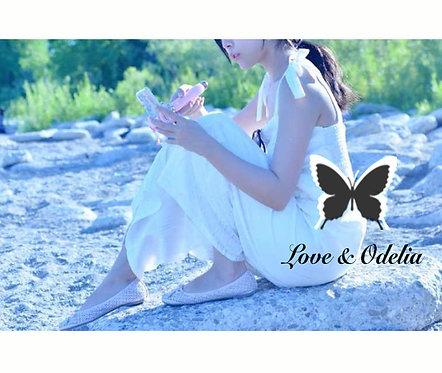 珍珠白色连体裤
