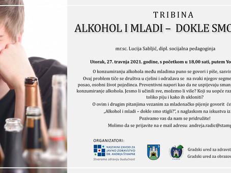 ALKOHOL I MLADI - DOKLE SMO STIGLI?