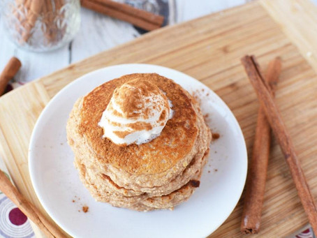 Fluffy Snickerdoodle Protein Pancakes Recipe